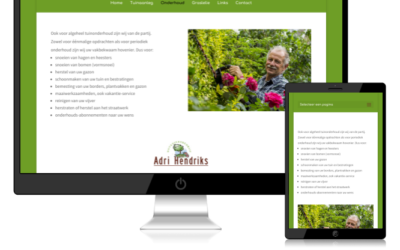 Redesign van een website