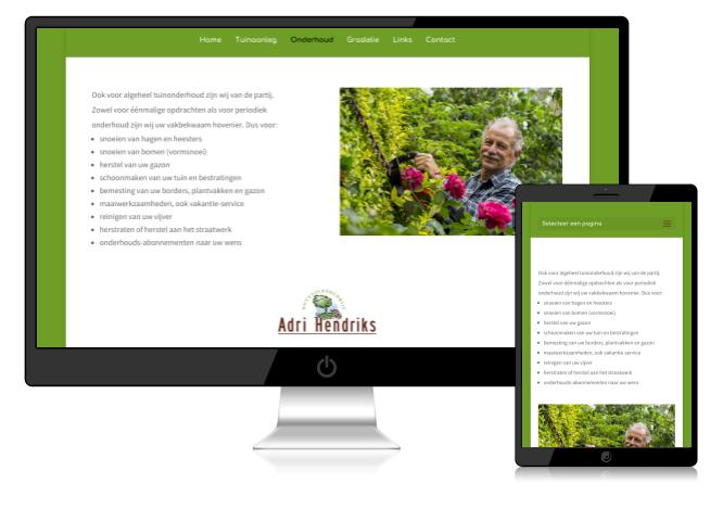 Redesign van een website