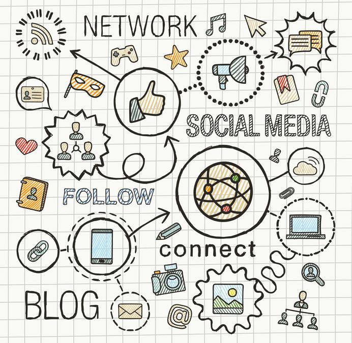 Actief op social media en maten voor afbeeldingen nodig?