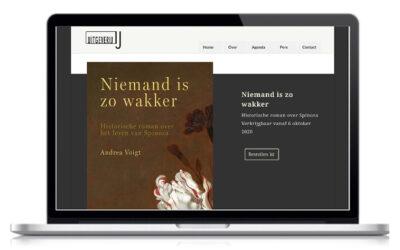 Website voor uitgeverij